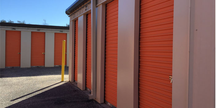 Shalimar Self Storage units